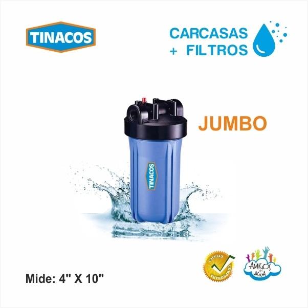 CARCASAS PARA FILTRO JUMBO TINACOS